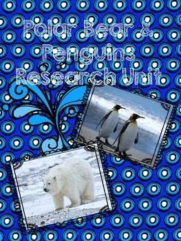 Polar bear and penguin Common core research Unit