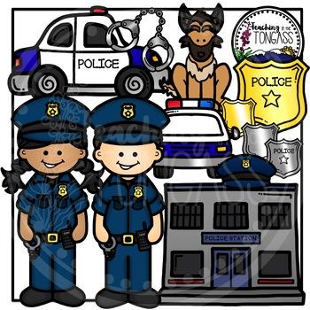 Police Clipart Bundle