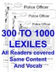 Careers: Police Officer FACTS Main Idea Close Read 5 level
