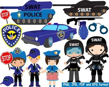 Police Swat Team Clip Art toy car community heroes cop arm