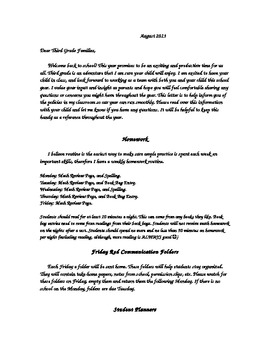 Policy & Procedure Letter