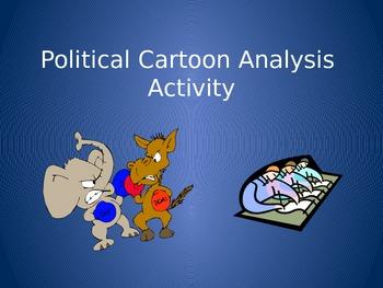 Political Cartoon Analysis Activity Higher Order Thinking