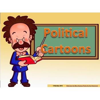 Political Cartoons  **Powerpoint Slide Deck**
