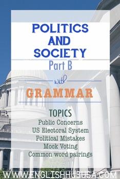 Politics & Society (Unit B Pack): Elections (Adult ESL/ EL