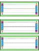 Polka Dot Back-to-School Name Tags
