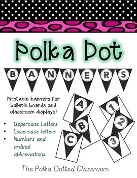 Polka Dot Banners