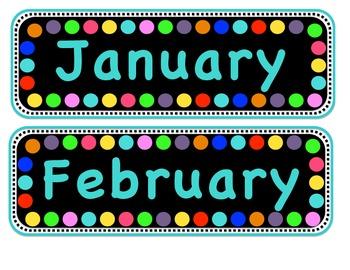Polka Dot Bulletin Board Bundle!
