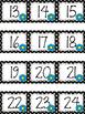Polka Dot Calendar Numbers for May