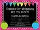 Polka Dot & Chalkboard Signs!