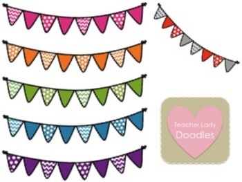 Polka Dot & Chevron Buntings