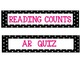 Polka Dot Class Numbers/Reading Counts/AR Quiz