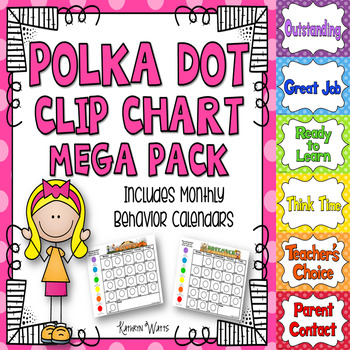 Polka Dot Clip Chart Mega Pack