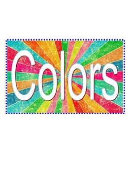 Polka Dot Color Posters