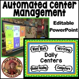 Polka Dot Daily Automated Centers/Guided Reading Rotations