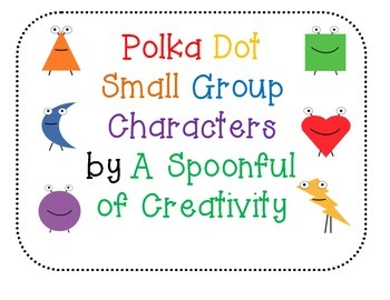 Polka Dot Design Small Group Organization Bundle