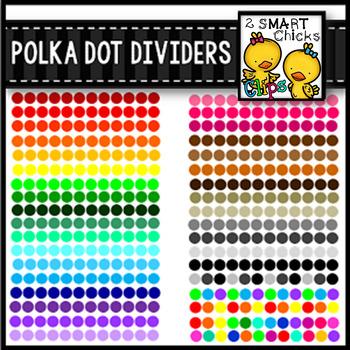 Polka Dot Dividers