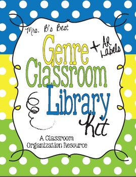 Polka Dot Genre and AR Classroom Library Kit - 3 Sets-Now