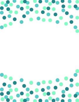 FUN FREEBIE: Polka Dot Header Printables