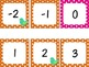 Polka Dot Little Bird Number Line Decor -20 to 120