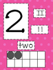 Polka Dot Number Cards