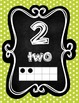 Polka Dot Number Posters 0-10