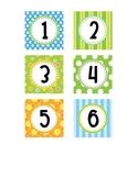 Polka Dot Numbers - Small