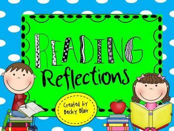 Polka Dot Reading Reflections Pack