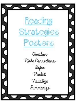 Polka Dot Reading Strategies Posters