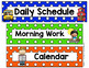 Polka Dot Schedule Cards (Primary Dots)
