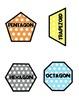 Polka Dot Shapes & Polygons