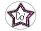 Polka Dot Star Word Wall Headers