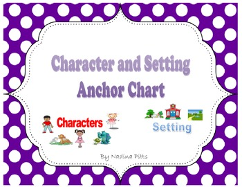 Polka Dot Story Elements Anchor Charts