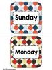 {Polka Dot Theme } Classroom Calendar