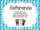 Polka Dot Themed Book Genre Posters with Descriptions in Blue