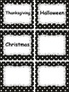 Polka Dot Word Wall Labels Grade 2