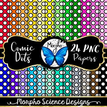 Polka Dots (Comic Style) - Digital Paper - FREE!
