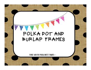Polka Dotty Frames