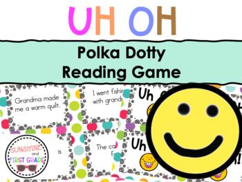 Polka Dotty Sentence Game