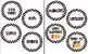 Polka dot Circle 4 in labels editable