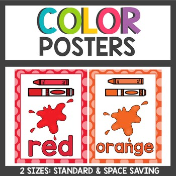 Color Posters Polka dot themed