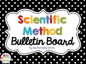 Polkadot Scientific Process Set with Pictures - Scientific Method