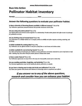 Pollinator Garden Inventory