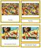 Pollock (Jackson) 3-Part Art Cards - Color Borders