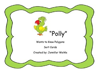 """""""Polly"""" Sort Cards"""