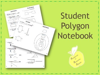 Polygon Fill in the Blank Notebook