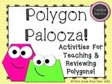 Polygon Palooza! Common Core Geometry Packet (Yellow Chevr