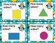 Polygon Penguins Task Cards (Shapes for PreK, K, and 1)