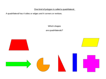 Polygon, Quadrilateral, Square, Rectangle