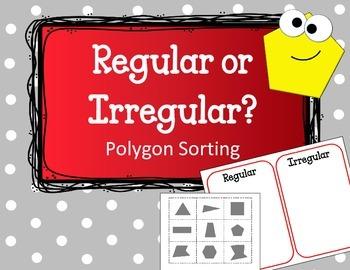 Polygon Sorting Game. Regular or Irregular Geometry Center