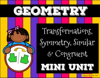 Polygon Transformations,Symmetry,Congruent/Similar Present
